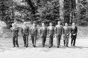 The 'boys' at Pencoed House