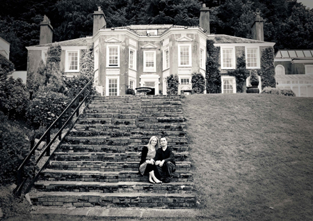 Pre-Wedding photoshoot. New house Hotel, Thornhill, Cardiff.