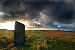 Comet Stone and Ring of Brodgar