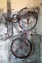 Hanging WW2 bike