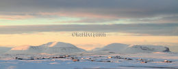 Mountains of Hoy in winter