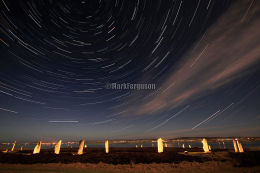 Startrails over the Ring of Brodgar
