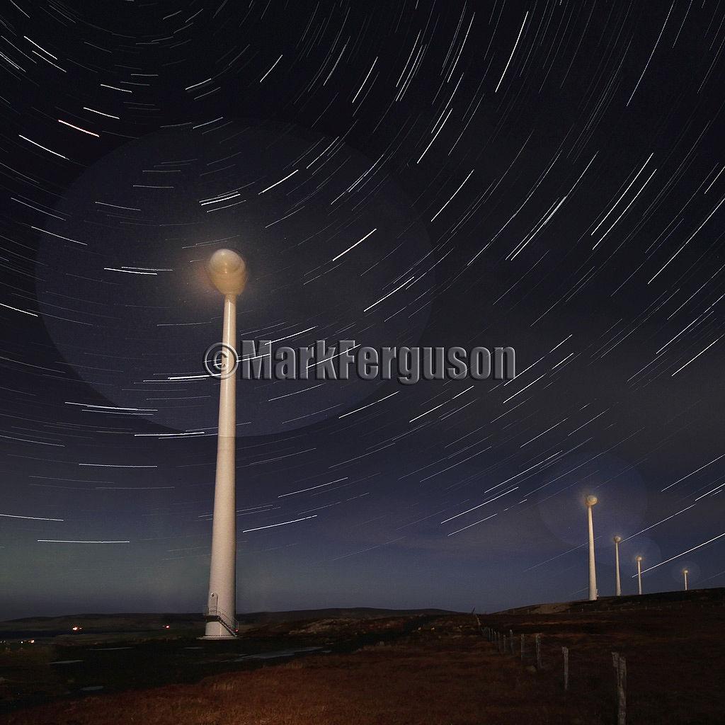 Hammars Hill star trails