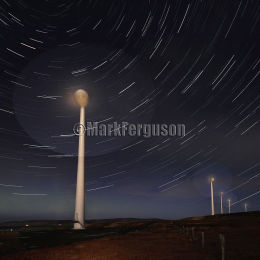 Hammars Hill star trails