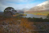 Highland, Glen Affric snowline