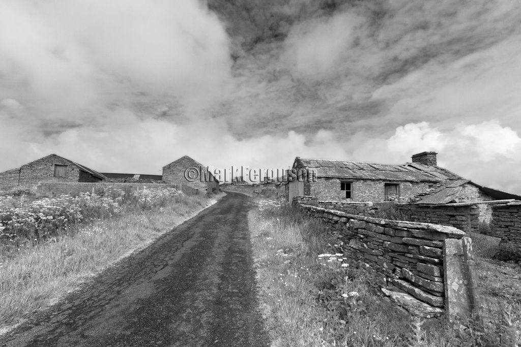 Westray, Netherhouse abandoned village