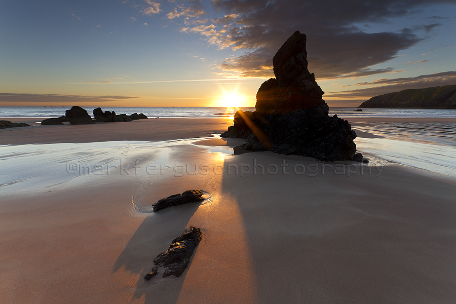 Sango Sands sunrise