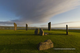 Late evening sun at Stenness