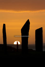 Stenness Sunset