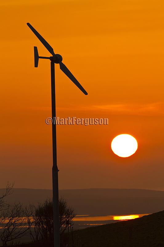Harray sunset