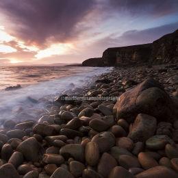 Scapa Flow pebble beach