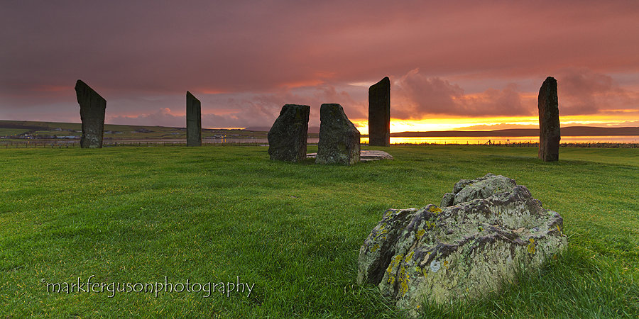 Stones of Stenness panorama