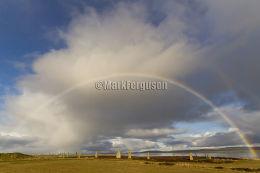 Brodgar rainbow
