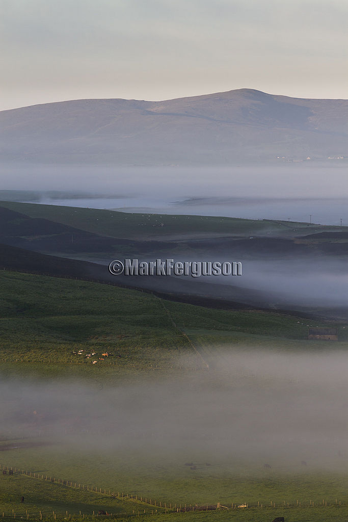 Ward Hill at dawn
