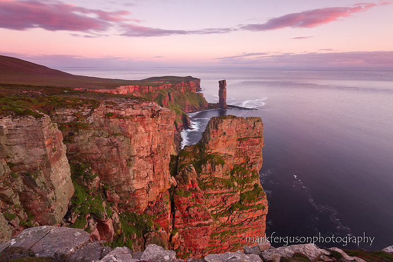 Sandstone cliffs of Hoy
