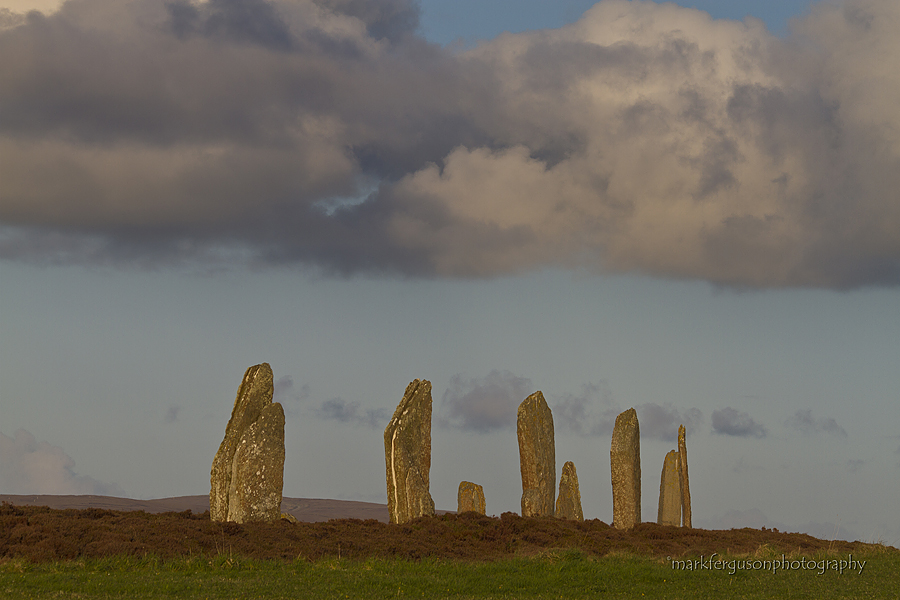 Cumulus cloud over Brodgar