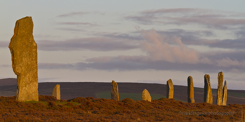 Ring of Brodgar summer panorama