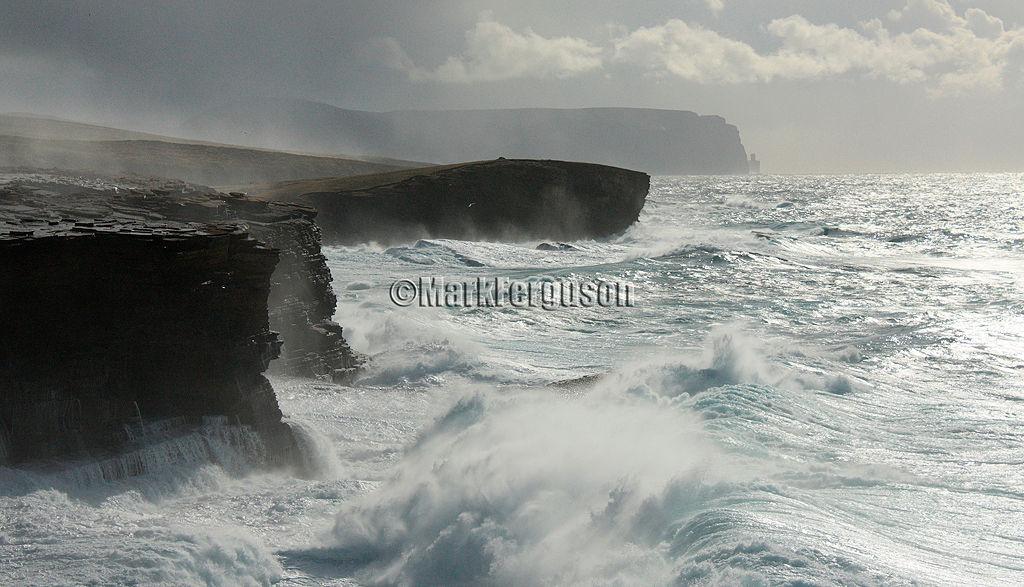 Yesnaby rough seas