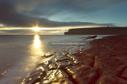 June sunset at Marwick