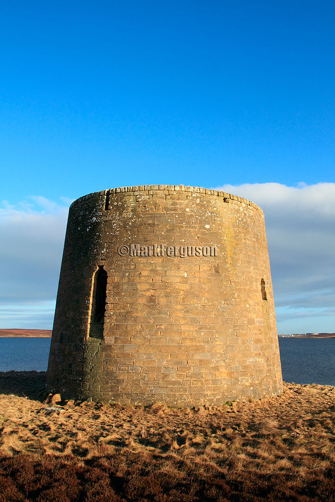Scapa Flow shore, Crockness Martello Tower