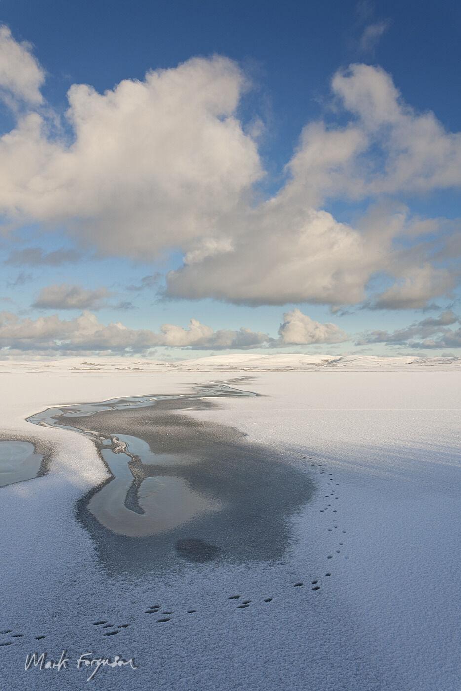 The Harray Loch in January