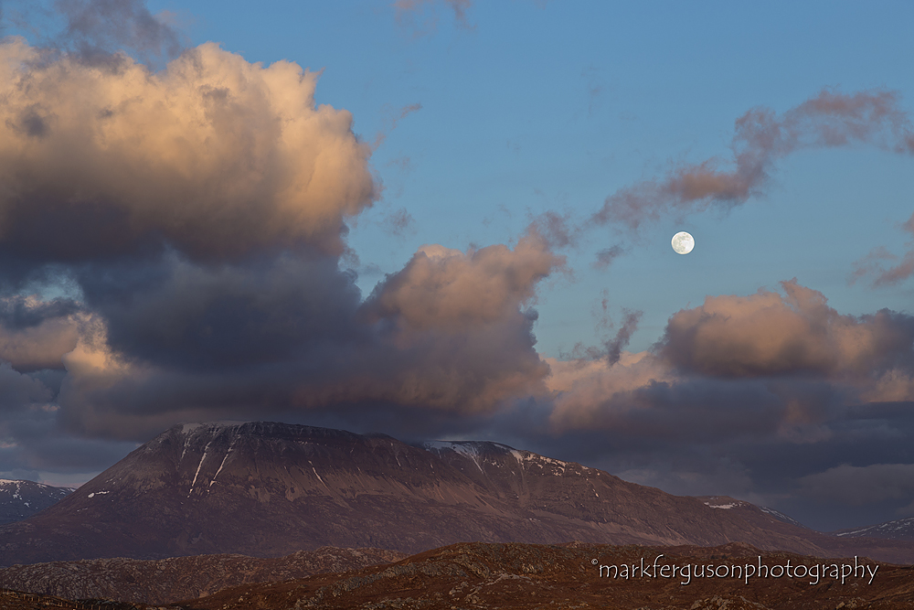 Full moon over Arkle