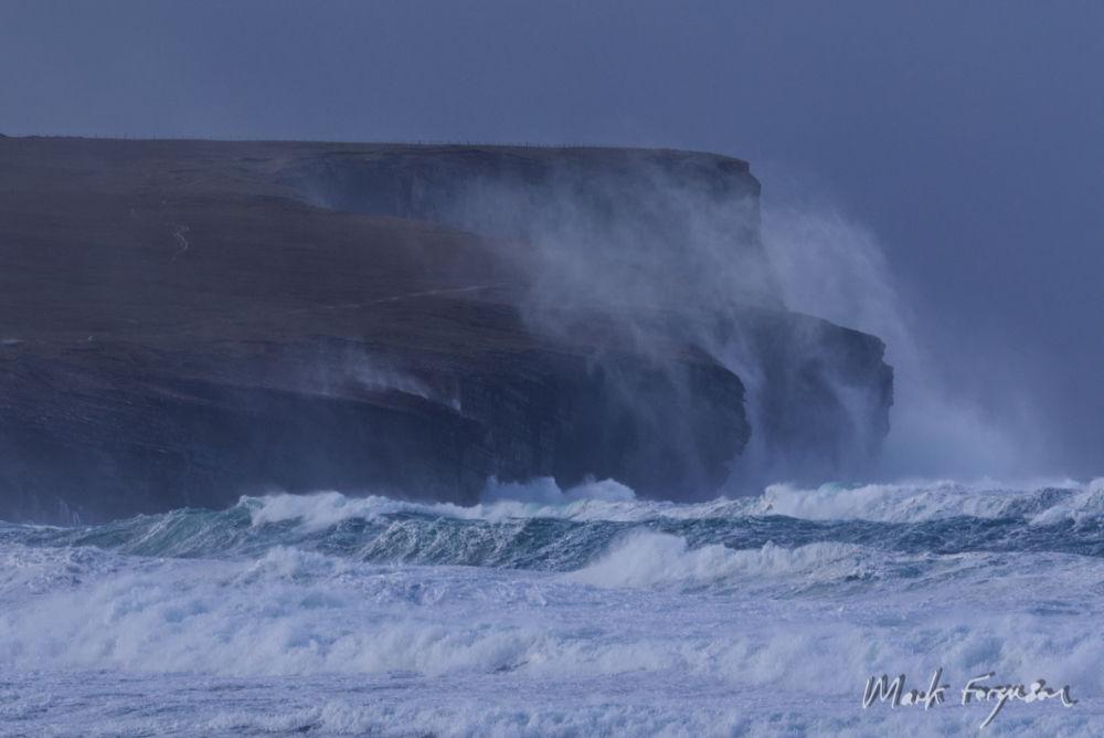 High seas at Marwick