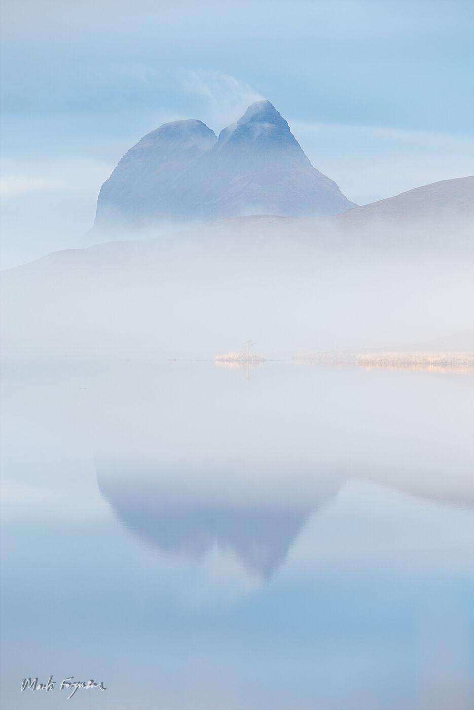 Suilven mist