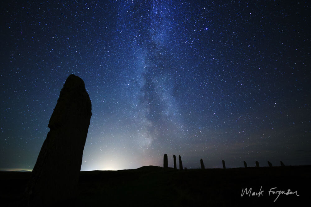 Brodgar silhouette