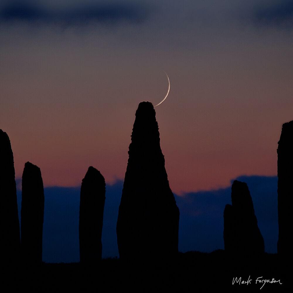 Brodgar crescent moon3