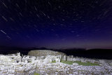 Broch of Gurness startrails