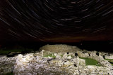 Broch of Gurness under the stars