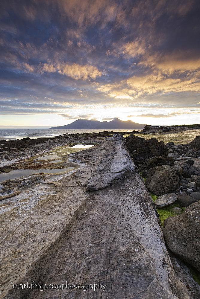 Laig rocky shore