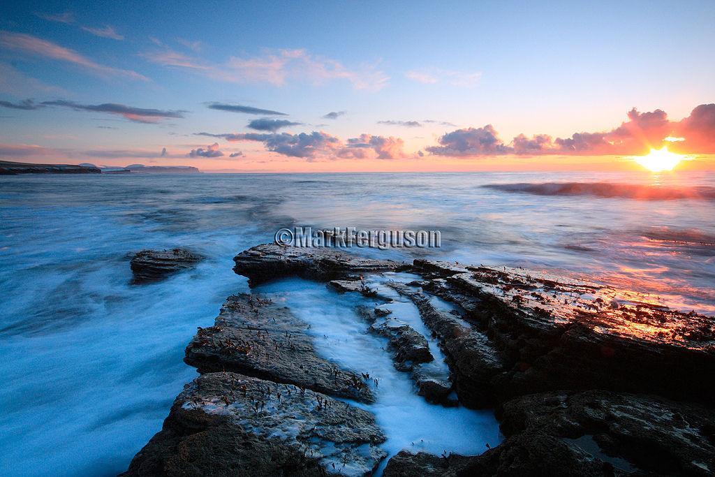 Silky sea at Marwick Bay