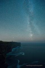 Milky Way over Marwick Head