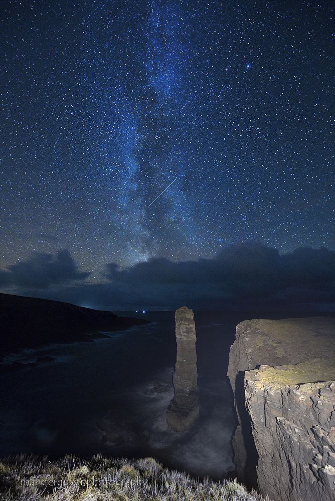 Milky Way over Yesnaby