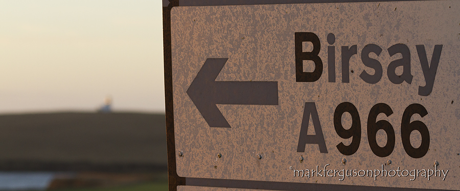 Birsay roadsign