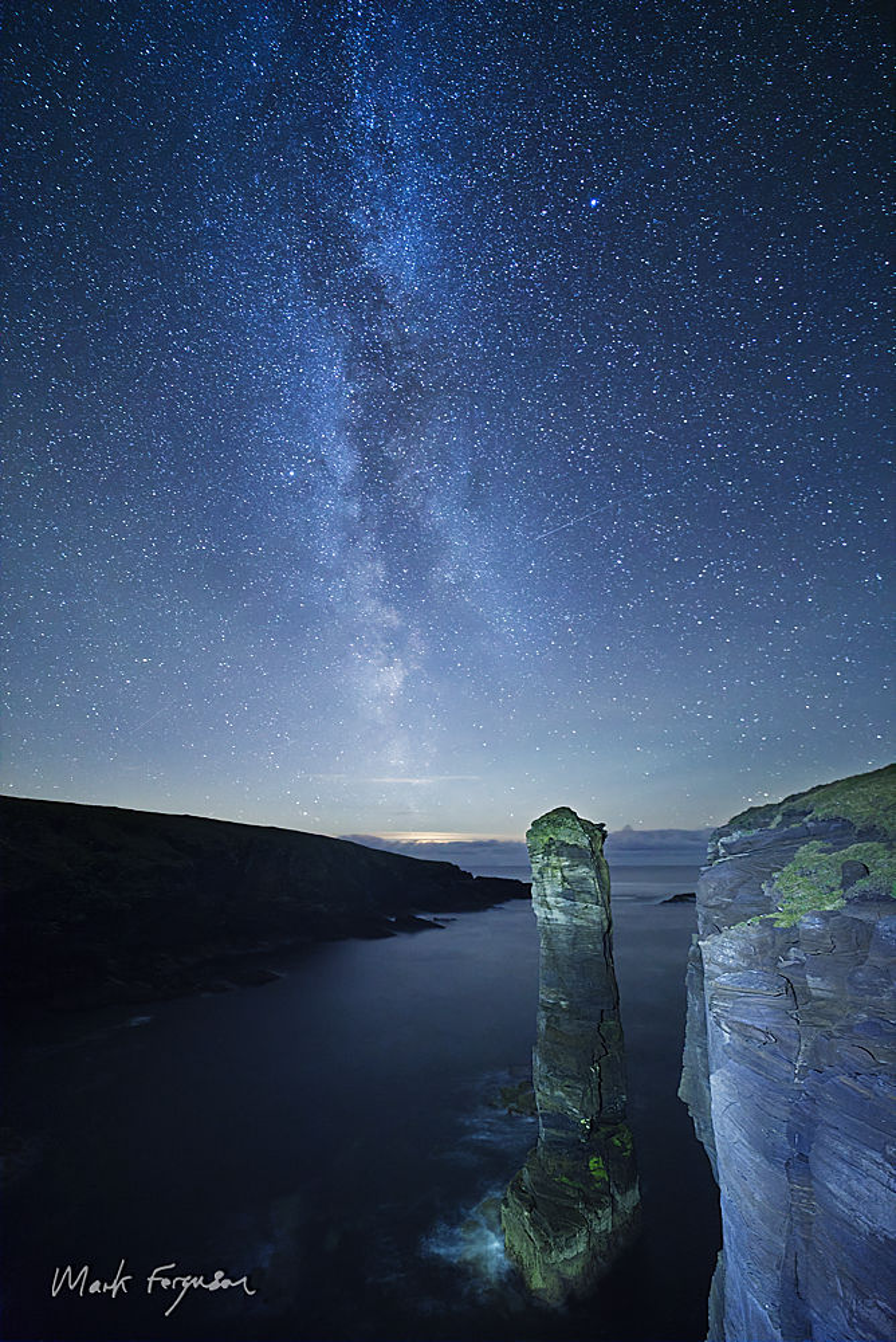 Milky Way at Yesnaby