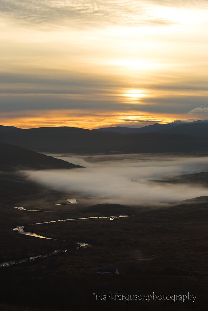 Strath Oykel sunrise