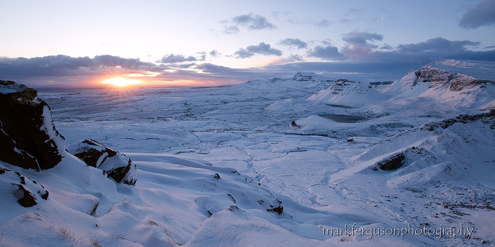 Quiraing winter sunrise