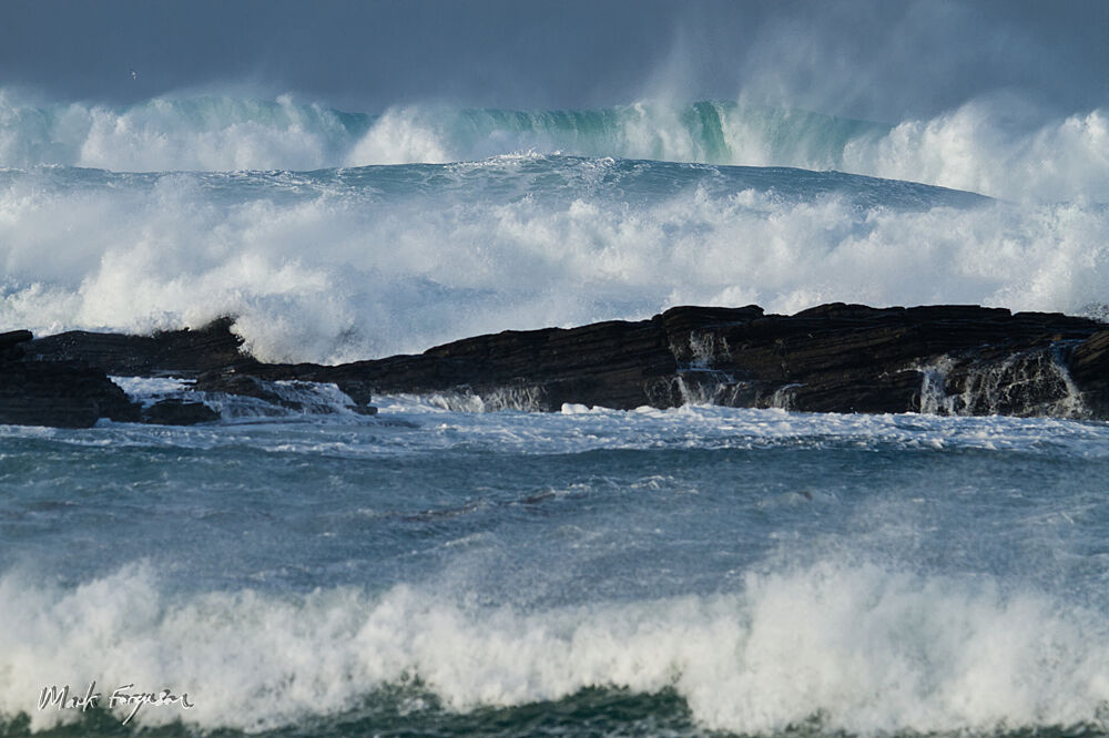 Wave procession
