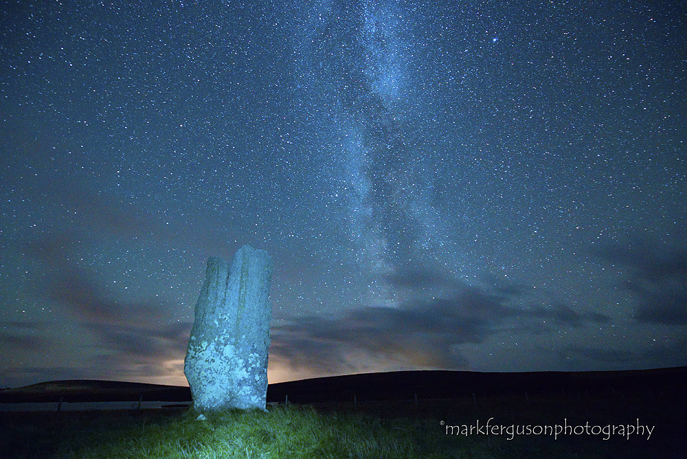Milky Way above Stone of Setter