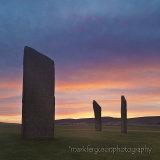 Stenness Stones sunrise