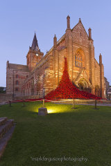 Weeping window at St Magnus Cathedral