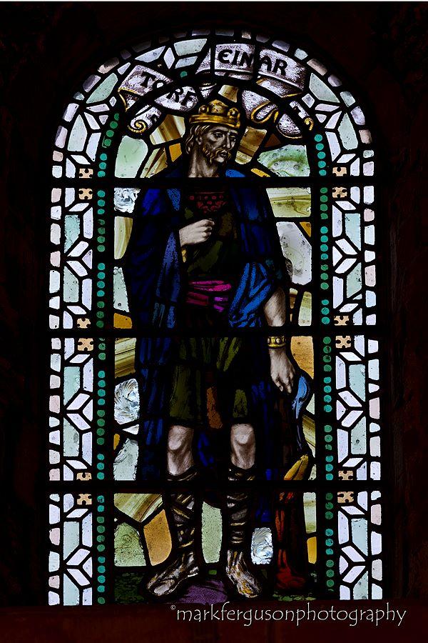 Torf Einar stained glass window