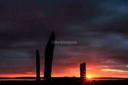 Stenness summer sunset