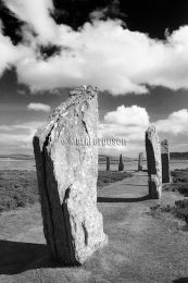 Ring of Brodgar in infrared