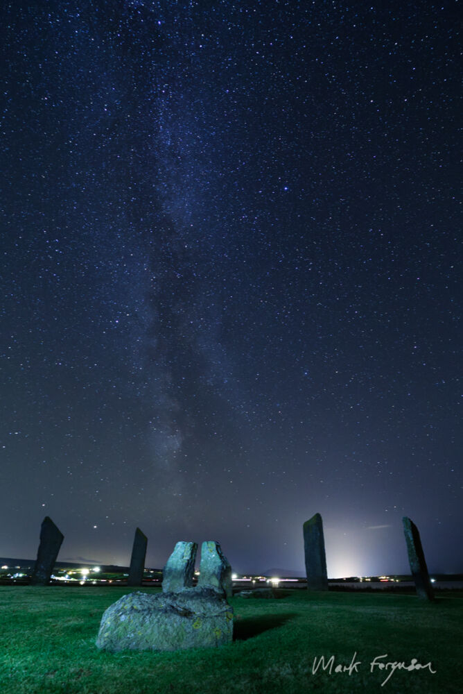 Stones of Stenness Milky Way