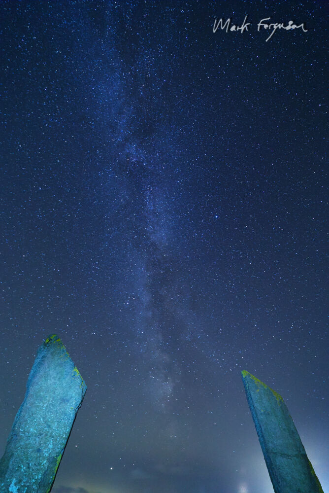 Milky Way at Stenness