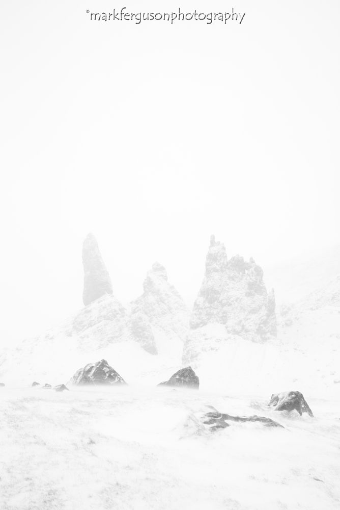 Blizzard at The Storr